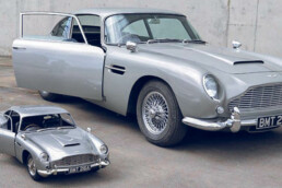 Comparison 3D printed Aston Martin and original from voxeljet
