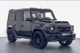 Brabus G900 with integrated compressor housing from voxeljet