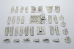 3D printed PMMA models from voxeljet
