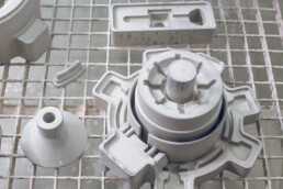 3D printed and infiltrated sand molds from voxeljet