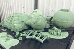 3D printed parts from voxeljet