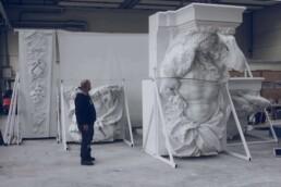 3D gedrucktes Denkmal von voxeljet