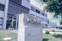 3D printed company stone from voxeljet