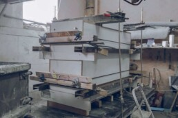 Formwork for concrete company stone from voxeljet