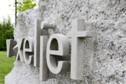 3D printed concrete company stone from voxeljet