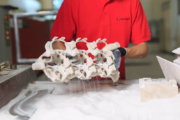 3D printing service on-demand from voxeljet
