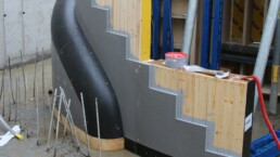3D printed concrete formwork from voxeljet