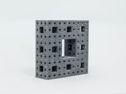3D printed rectangle from PP by voxeljet