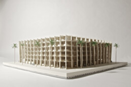 3D printed architectural model from voxeljet