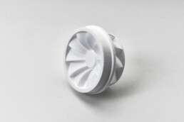 3D printed plastic component from voxeljet