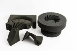 3D printed sand casting impeller from voxeljet