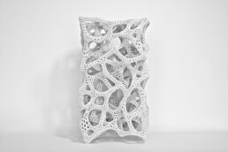 3D printed lamp from voxeljet