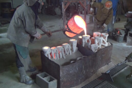 3D investment casting core from voxeljet