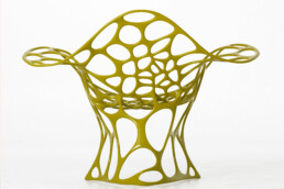 Chair from the voxeljet 3D printer