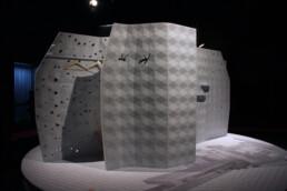3D printed exhibit from voxeljet