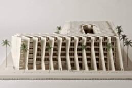3D printed architectural model voxeljet