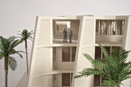 3D architectural model from voxeljet