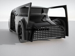 3D printed prototype of a car from voxeljet