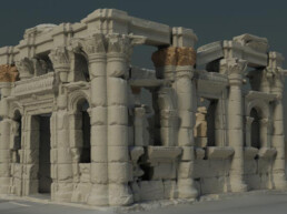 3D scan of an excavation