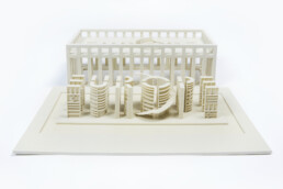 3D printed EU Parliament from voxeljet