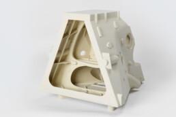 3D printed PMMA gear case