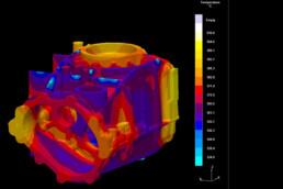 3D Print Casting behavior of voxeljet
