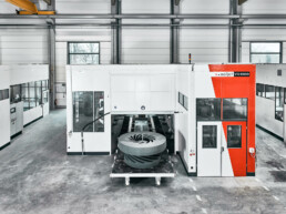 The VX4000 industrial sand 3D printer from voxeljet