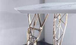 3D investment casting model from voxeljet for bronze casting