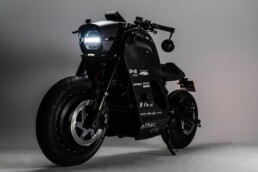 Electric motorcycle from ethec city