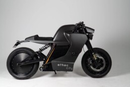 Electric motorcycle from the 3D printer by voxeljet