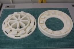 ceramic investment casting pattern from voxeljet
