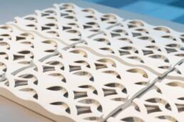 ceramic 3d printing modell from voxeljet